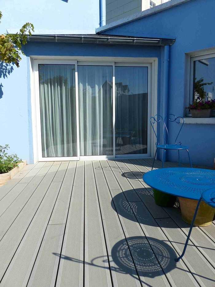 Terrasse composite pour maison bord de mer - Plérin